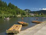 Rafting na Dunajcu w Pieninach